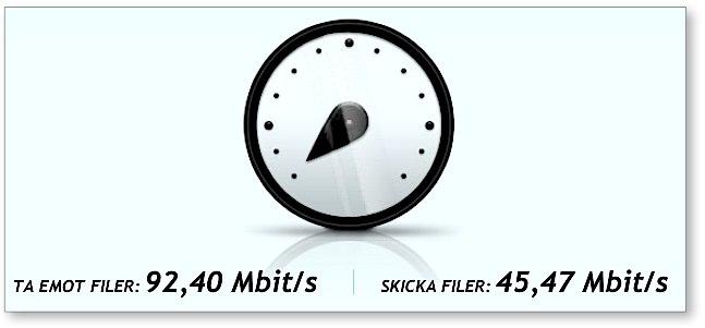 135 Mbit/s i Teliasoneras 4g-nät