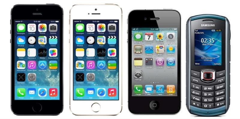 Iphone dominerar företagstoppen