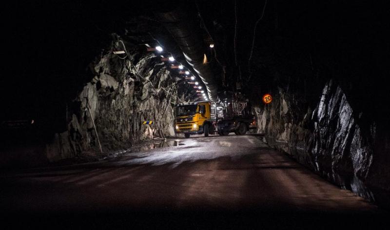 Säkrare gruvarbete med hjälp av 5g