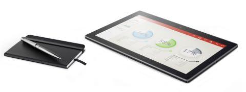 Företagskunderna får egen Lenovo-platta