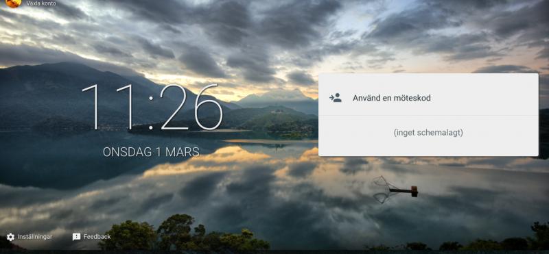 Google smyger ut ny videomötestjänst