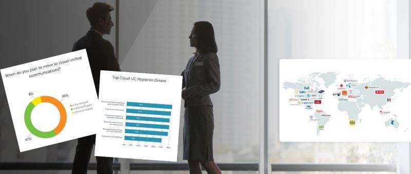 Studie: Nu satsar företagen på molnkommunikation