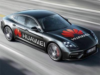 Huawei styr Porschen via telefonen