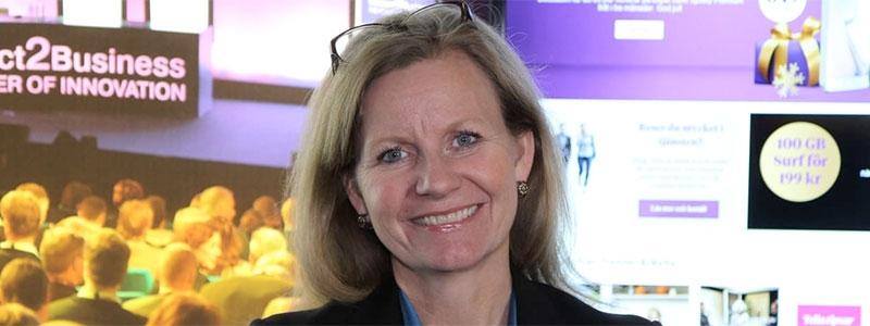 Hélène Barnekow hoppar av som vd för Telia Sverige