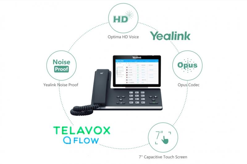 Telavox Flow lanseras i fasta smart media-telefoner