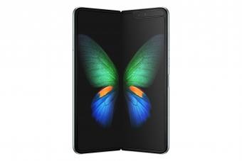 Samsung först ut med vikbar mobil