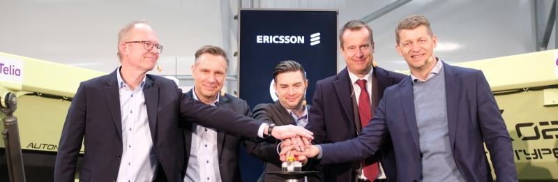 Nu är Sveriges första industriella 5g-nät igång