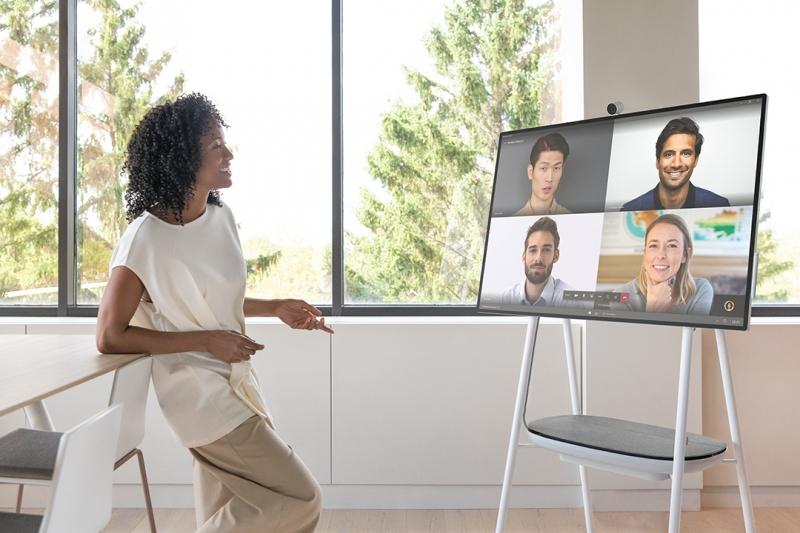 Här är Microsofts nya Surface Hub 2S