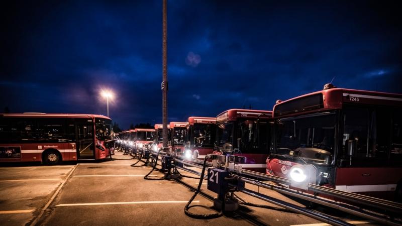 IoT-teknik sparar energi för bussbolaget