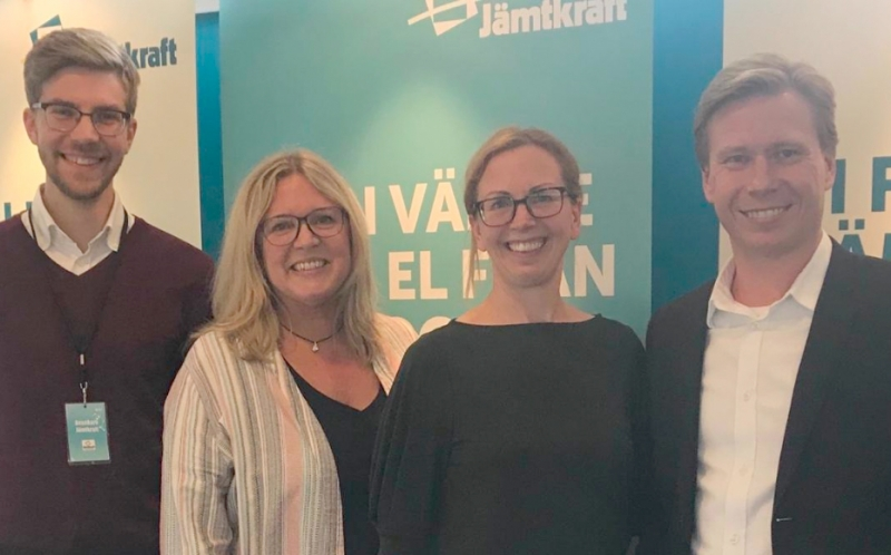 Jämtkraft väljer Connectel som innovationsparter