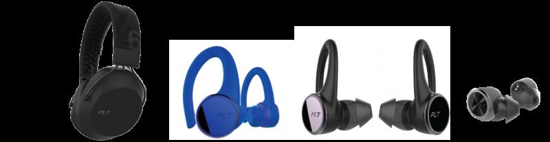 Här är Polys nya trådlösa hörlurar