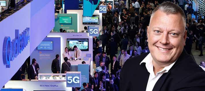 """""""Man kan kalla det ett 'Davos-light' inom telekom"""""""