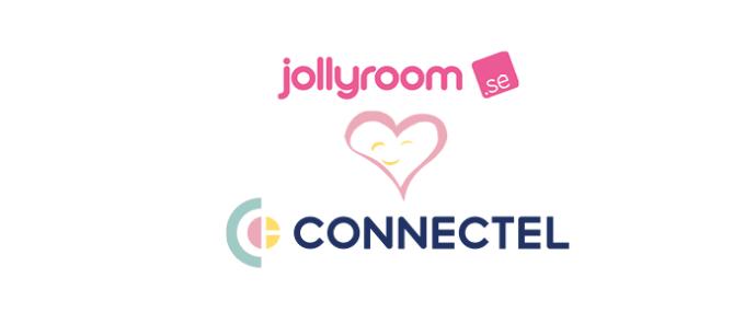 E-handelsjätten Jollyroom väljer Connectel