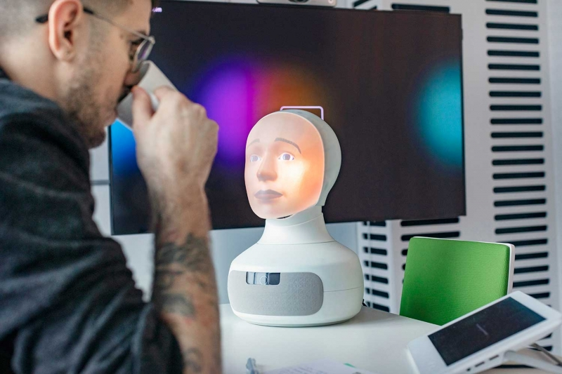 Fackförbundet Vision använder robot för rekrytering