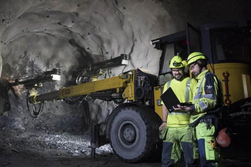 Telia  bryter ny mark – kopplar upp gruva