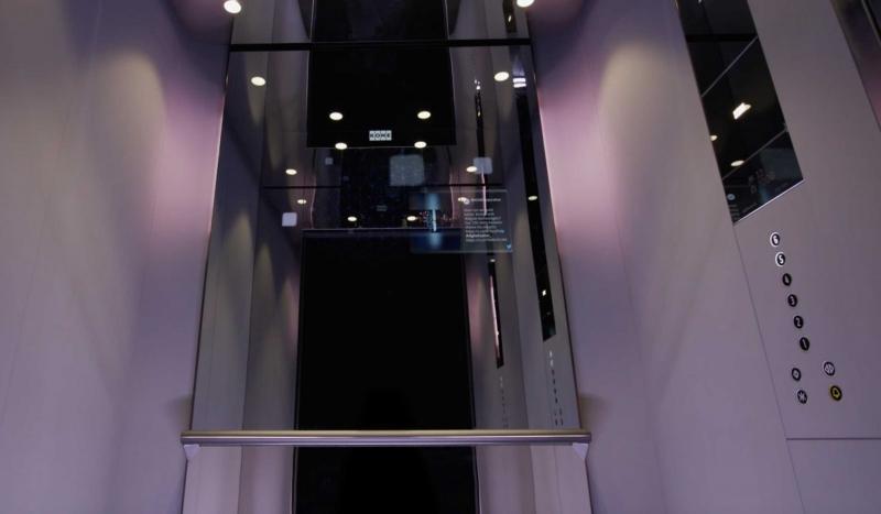 Nu lanseras världens första uppkopplade hiss