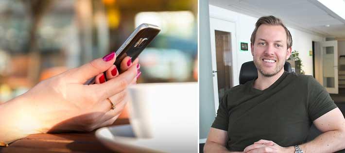 """Utmanare lanserar telefoni: """"Inte många som kan agera så här"""""""