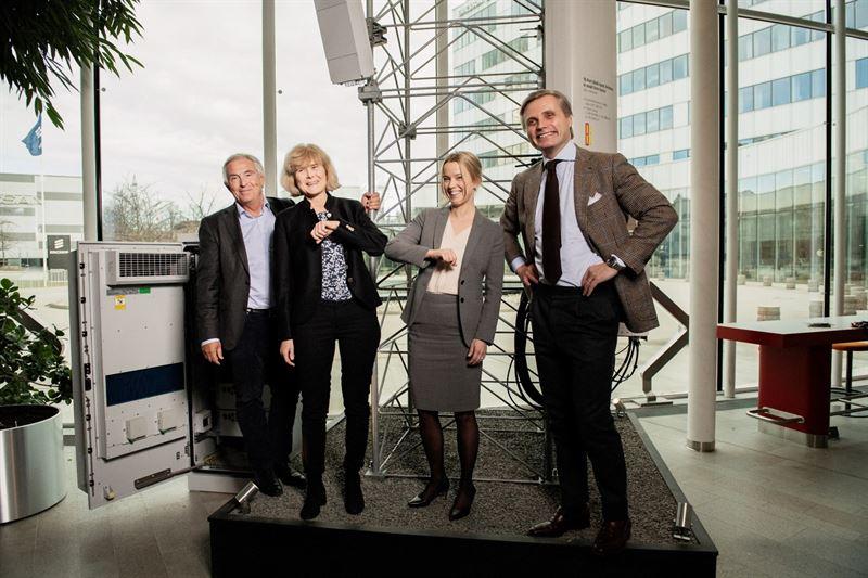 Teracom väljer Ericsson som teknikleverantör