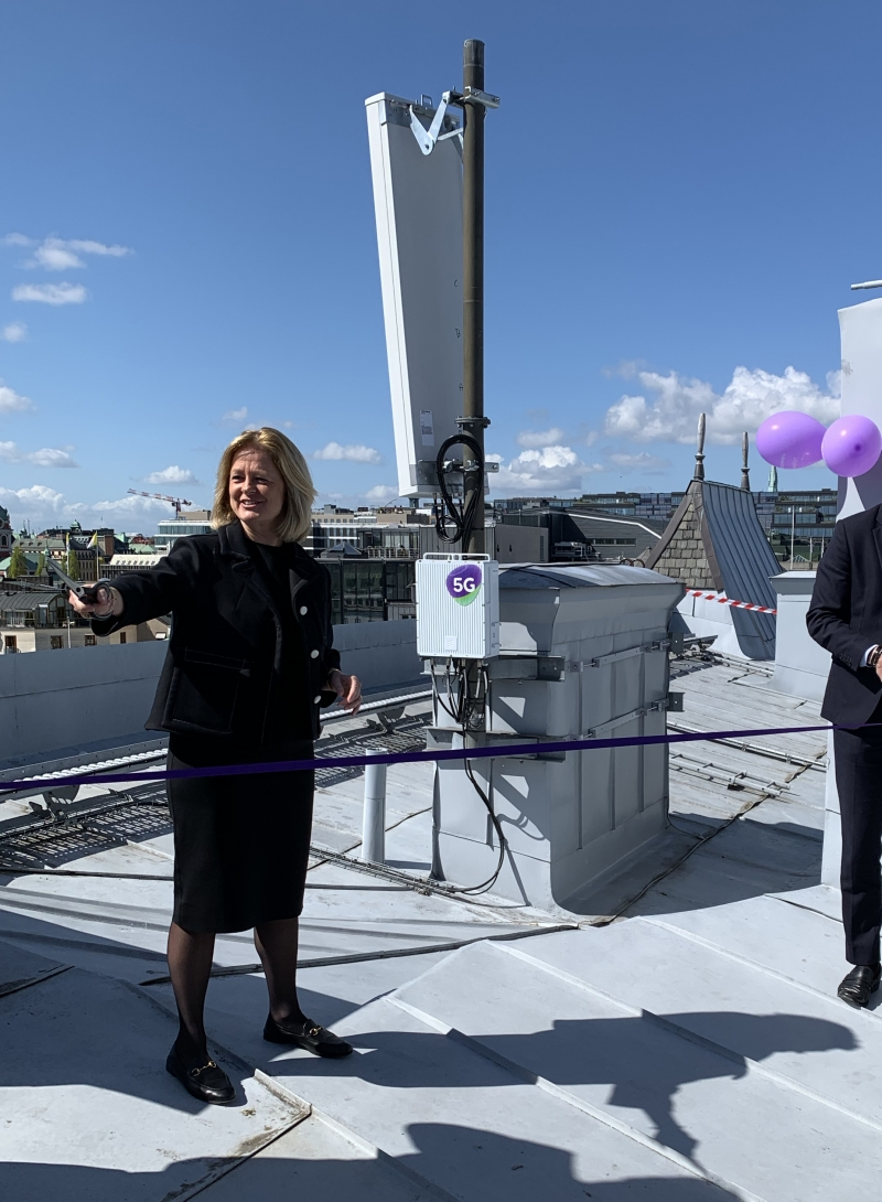 2,2 Gbit/s nya svenska 5g-rekordet