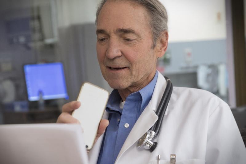 Nytt taligenkänningssystem frigör tid för läkare