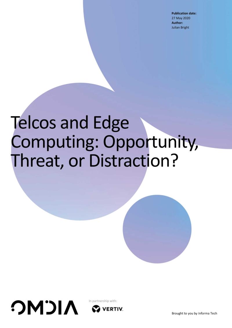 Rapport: Edge computing ger operatörer nya möjligheter