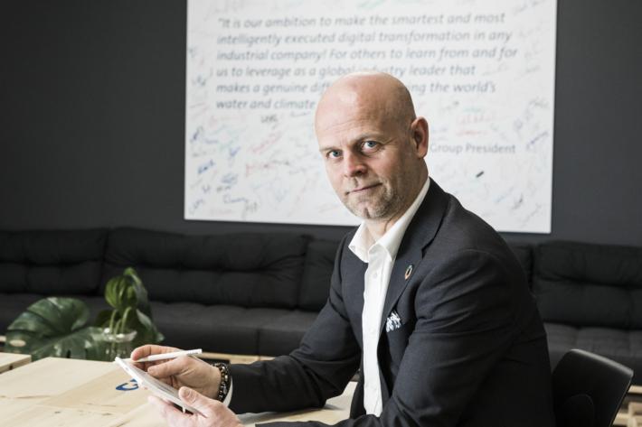 Fredrik Östbye, Grundfos.