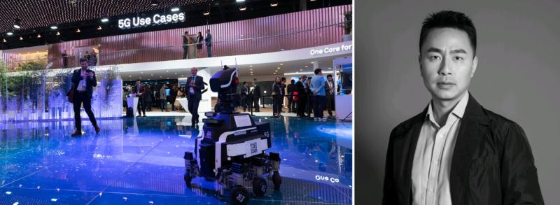 Huawei: Vi vill vara en del av 5g-utvecklingen i Sverige