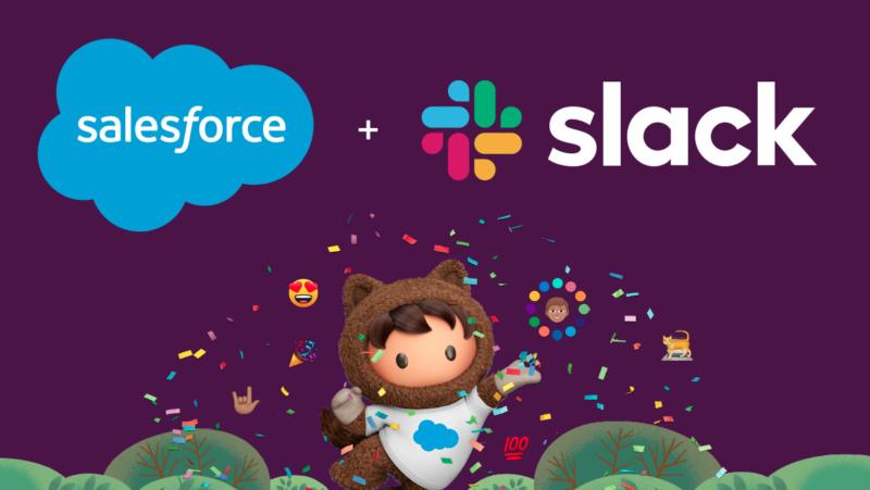Salesforce köper samarbetstjänsten Slack