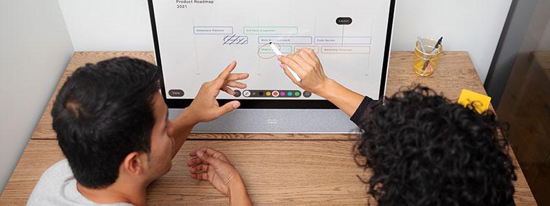 Cisco: Viktigt att whiteboarden är integrerad i plattformen