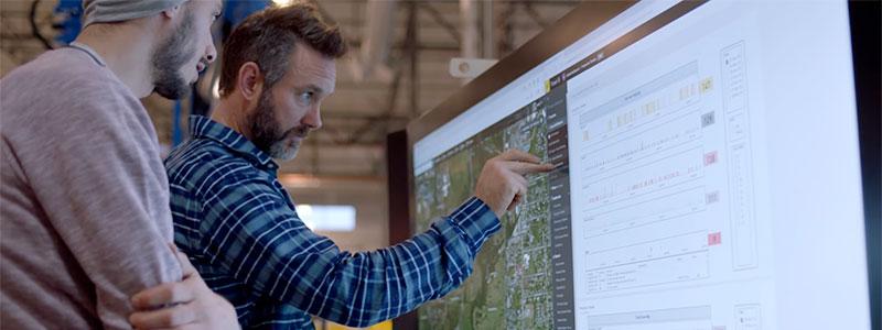 Microsoft: Touchskärm viktig del av whiteboard-samarbete