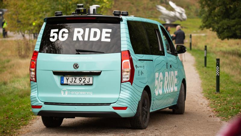 Projektet 5g Ride fortsätter – får in nya partners