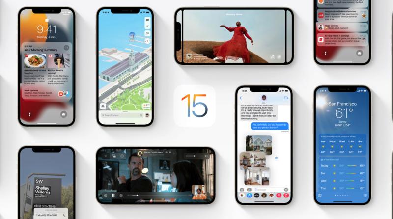 Apple uppdaterar – så här är nya Ios 15