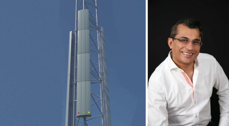 Ludvika först att testa antennlösning som lovar att ta bort vita fläckar
