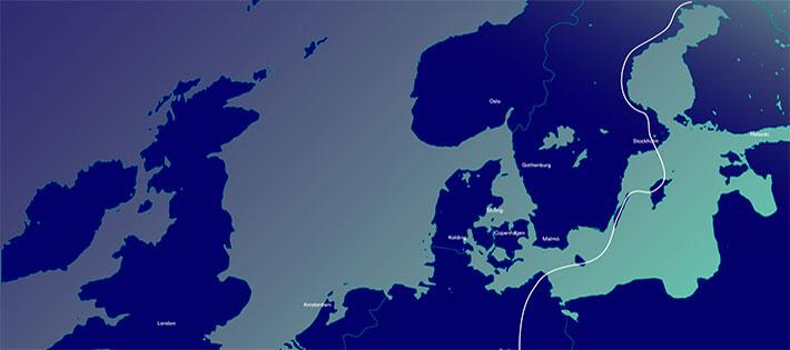"""Globalconnect bygger """"digital motorväg"""" genom Europa"""
