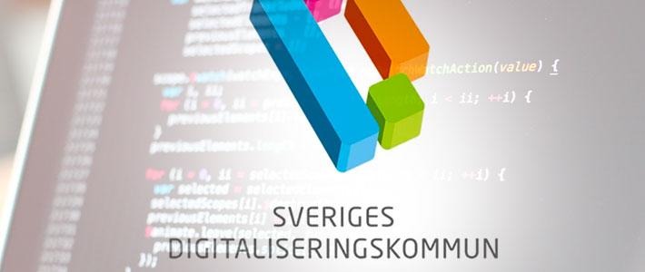 Tre finalister tävlar om att bli Sveriges digitaliseringskommun