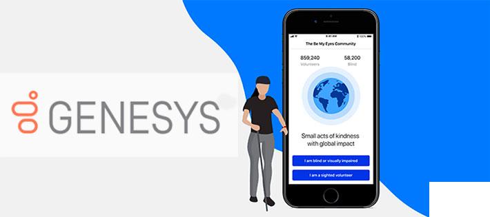 Genesys gör kontaktcentret tillgängligt för kunder med synnedsättning