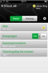 Tre lanserar växel som app