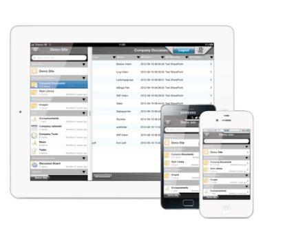 Android får säker Sharepoint-app
